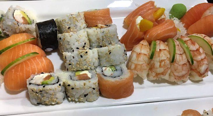 taller de sushi